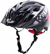 CASCO KALI CHAKRA YOUTH SNAP GLS BLACK/RED