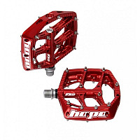 PEDALES HOPE F20 ROJO