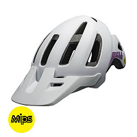 CASCO BELL NOMAD MUJER MIPS MAT WHT/PUR