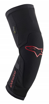 RODILLERAS ALPINESTARS PARAGON PLUS BLACK RED