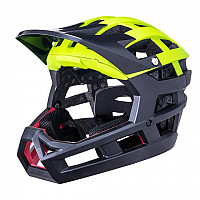 CASCO KALI INVADER SOLID YELLOW BLACK
