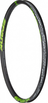 ARO 27.5 32H SPANK SPIKE RACE33 BLACK/GREEN
