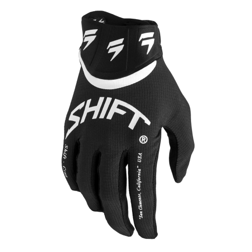 GUANTES SHIFT WHITE LABEL BLISS NEGRO/BLANCO