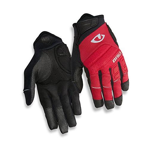 GUANTES GIRO XEN DARK RED/BLACK/GREY