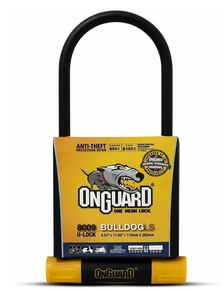 CANDADO U-LOCK BULLDOG LS 115MM X 292MM